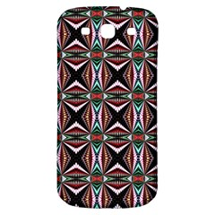Plot Texture Background Stamping Samsung Galaxy S3 S Iii Classic Hardshell Back Case