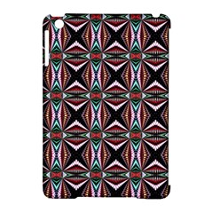 Plot Texture Background Stamping Apple Ipad Mini Hardshell Case (compatible With Smart Cover)