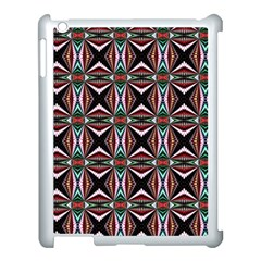 Plot Texture Background Stamping Apple Ipad 3/4 Case (white)