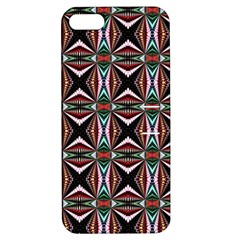 Plot Texture Background Stamping Apple Iphone 5 Hardshell Case With Stand
