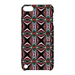 Plot Texture Background Stamping Apple Ipod Touch 5 Hardshell Case With Stand