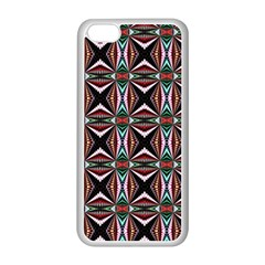 Plot Texture Background Stamping Apple Iphone 5c Seamless Case (white)