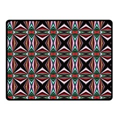 Plot Texture Background Stamping Double Sided Fleece Blanket (small)
