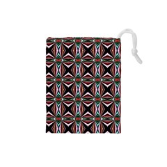Plot Texture Background Stamping Drawstring Pouches (small)