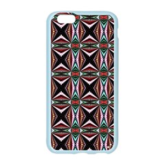 Plot Texture Background Stamping Apple Seamless iPhone 6/6S Case (Color)