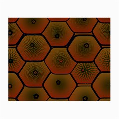 Psychedelic Pattern Small Glasses Cloth