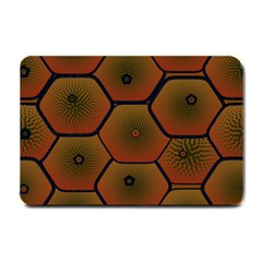 Psychedelic Pattern Small Doormat