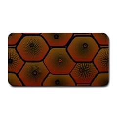Psychedelic Pattern Medium Bar Mats