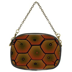 Psychedelic Pattern Chain Purses (Two Sides)