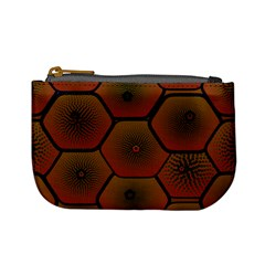Psychedelic Pattern Mini Coin Purses