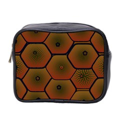 Psychedelic Pattern Mini Toiletries Bag 2-Side