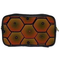 Psychedelic Pattern Toiletries Bags