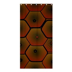 Psychedelic Pattern Shower Curtain 36  x 72  (Stall)