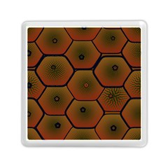 Psychedelic Pattern Memory Card Reader (Square)