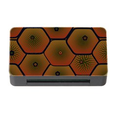 Psychedelic Pattern Memory Card Reader with CF