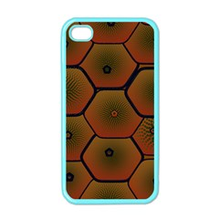 Psychedelic Pattern Apple Iphone 4 Case (color)