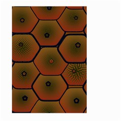 Psychedelic Pattern Large Garden Flag (Two Sides)