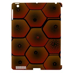 Psychedelic Pattern Apple Ipad 3/4 Hardshell Case (compatible With Smart Cover)