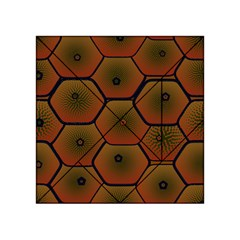 Psychedelic Pattern Acrylic Tangram Puzzle (4  X 4 )