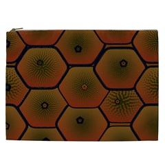 Psychedelic Pattern Cosmetic Bag (xxl)