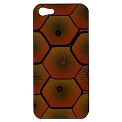Psychedelic Pattern Apple Iphone 5 Hardshell Case