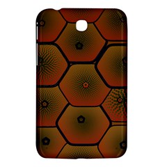Psychedelic Pattern Samsung Galaxy Tab 3 (7 ) P3200 Hardshell Case