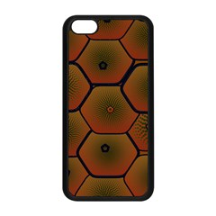 Psychedelic Pattern Apple Iphone 5c Seamless Case (black)