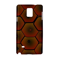 Psychedelic Pattern Samsung Galaxy Note 4 Hardshell Case