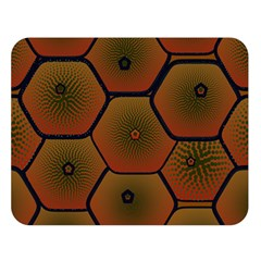 Psychedelic Pattern Double Sided Flano Blanket (Large)