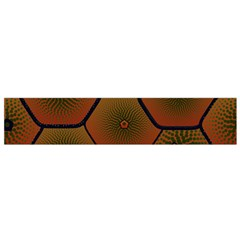 Psychedelic Pattern Flano Scarf (small)