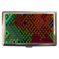 Psychedelic Abstract Swirl Cigarette Money Cases