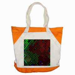 Psychedelic Abstract Swirl Accent Tote Bag