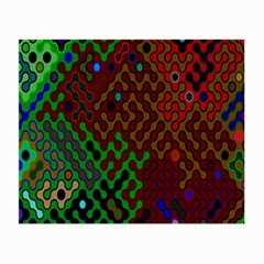 Psychedelic Abstract Swirl Small Glasses Cloth (2-Side)