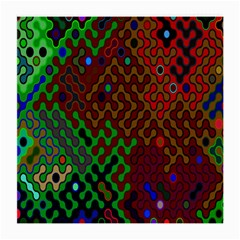Psychedelic Abstract Swirl Medium Glasses Cloth