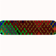 Psychedelic Abstract Swirl Large Bar Mats