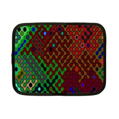 Psychedelic Abstract Swirl Netbook Case (small)