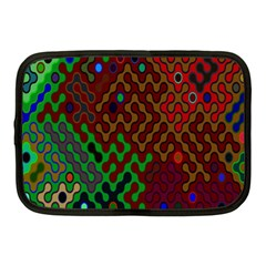 Psychedelic Abstract Swirl Netbook Case (Medium)