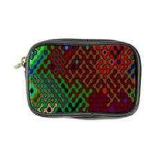 Psychedelic Abstract Swirl Coin Purse