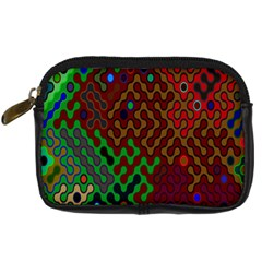 Psychedelic Abstract Swirl Digital Camera Cases