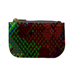 Psychedelic Abstract Swirl Mini Coin Purses
