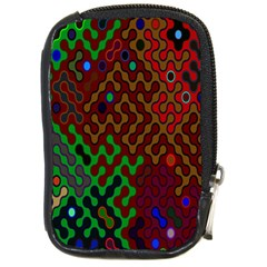 Psychedelic Abstract Swirl Compact Camera Cases
