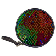 Psychedelic Abstract Swirl Classic 20-CD Wallets
