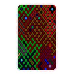 Psychedelic Abstract Swirl Memory Card Reader
