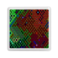 Psychedelic Abstract Swirl Memory Card Reader (square)