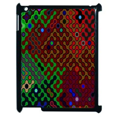 Psychedelic Abstract Swirl Apple Ipad 2 Case (black)