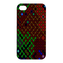 Psychedelic Abstract Swirl Apple iPhone 4/4S Hardshell Case