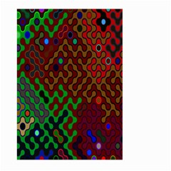 Psychedelic Abstract Swirl Large Garden Flag (Two Sides)