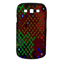 Psychedelic Abstract Swirl Samsung Galaxy S III Classic Hardshell Case (PC+Silicone)