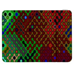 Psychedelic Abstract Swirl Samsung Galaxy Tab 7  P1000 Flip Case