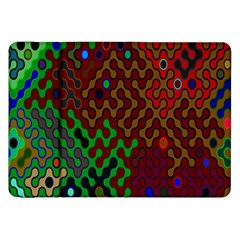Psychedelic Abstract Swirl Samsung Galaxy Tab 8.9  P7300 Flip Case